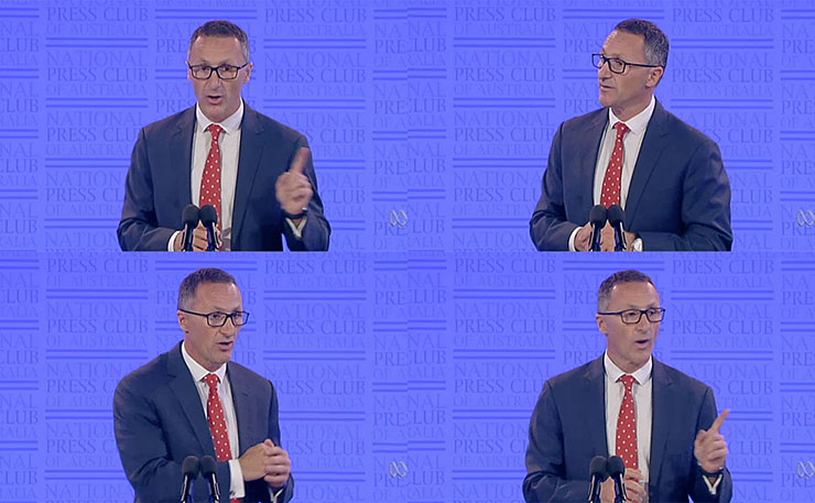 A Watermelon and Proud of It? On Richard Di Natale's Press Club Speech