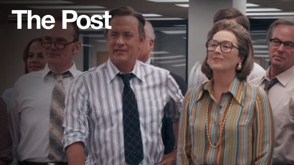 Five Stars for Us! A Review of Steven Spielberg's 'The Post'